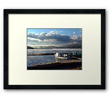 Morning at Margaree Harbour. Framed Print