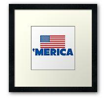 'Merica Framed Print