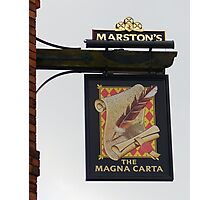 The Magna Harta Photographic Print