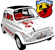 Fiat Abarth 595 by car2oonz