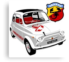 Fiat Abarth 595 Canvas Print