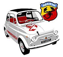 Fiat Abarth 595 Photographic Print