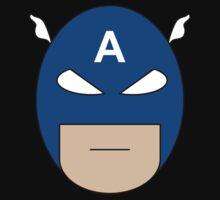 Captain America Egghead Kids Clothes