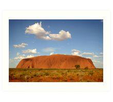 Uluru, Australia Art Print