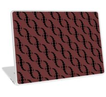 Wavy Crop Circle Laptop Skin