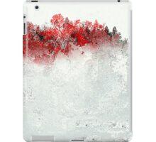Red Landscape Impressions iPad Case/Skin
