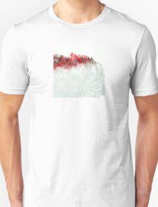 Red Landscape Impressions T-Shirt