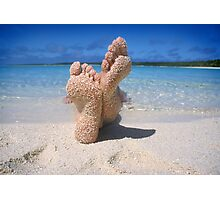 South Pacific Beach Photographic Print