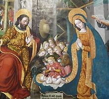 Chapel de Sainte Roseline - Nativity, Ecole de Nice - 1541 by presbi