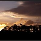 Sunset over Dufftown by Shaun Whiteman