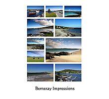 Berneray - Beàrnaraidh Photographic Print