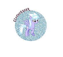 Cloudchaser Glitter Photographic Print