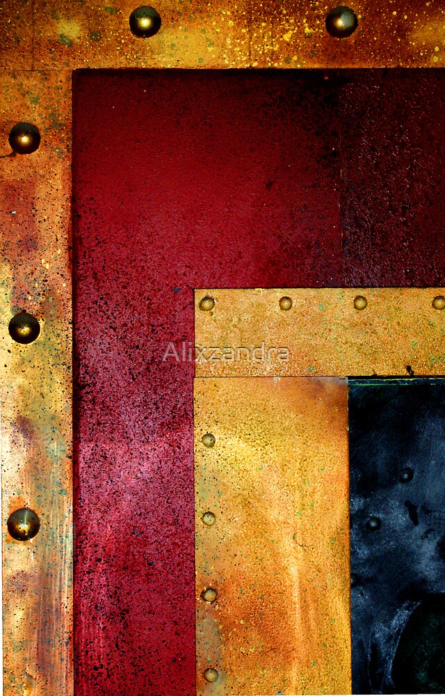 Metal in Abstract ~ It gets more Riveting.. by Alixzandra