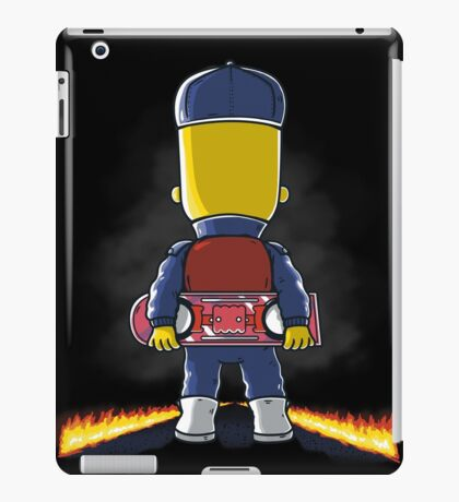 Bart to the Future iPad Case/Skin