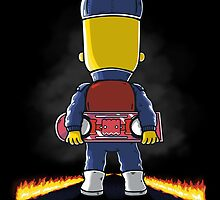 Bart to the Future by 2mzdesign