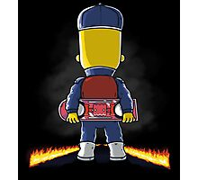 Bart to the Future Photographic Print