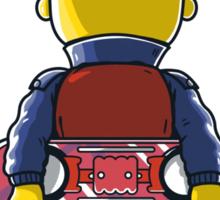 Bart to the Future Sticker