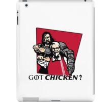 GOT chicken? iPad Case/Skin