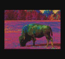 Alternate World Bison by Michael McCasland