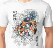 Thrashing Koi Unisex T-Shirt