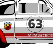 Racing Fiat Abarth 595 Sticker