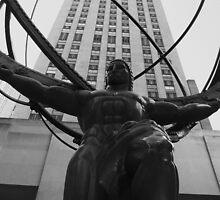 Atlas, NYC by cornishgirlie