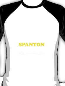 Keep Calm and Let SPANTON Handle it T-Shirt