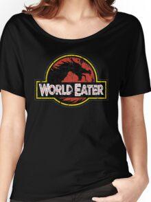 World-Eater Beware! Women's Relaxed Fit T-Shirt