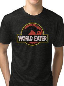 World-Eater Beware! Tri-blend T-Shirt