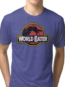World-Eater Beware! Tri-blend T-Shirt