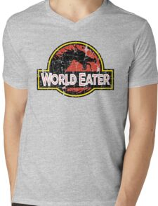 World-Eater Beware! Mens V-Neck T-Shirt
