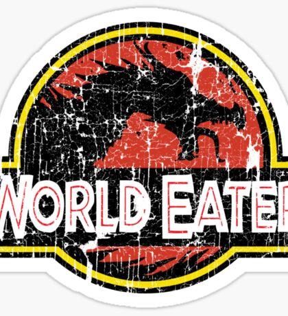 World-Eater Beware! Sticker