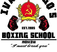 I. Drago's boxing school by edcarj82