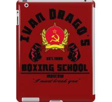 I. Drago's boxing school iPad Case/Skin