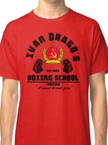 I. Drago's boxing school Classic T-Shirt