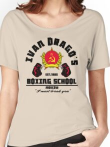 I. Drago's boxing school Women's Relaxed Fit T-Shirt