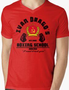 I. Drago's boxing school Mens V-Neck T-Shirt