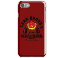 I. Drago's boxing school iPhone Case/Skin