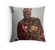 Nana and grandchild Throw Pillow