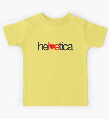 Love Helvetica Kids Tee