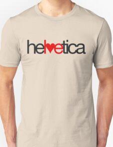 Love Helvetica Unisex T-Shirt