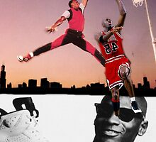Michael Jordan - Jump Shot  by Wessywes