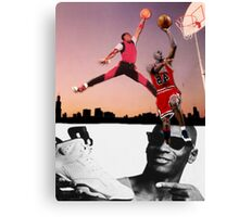 Michael Jordan - Jump Shot  Canvas Print