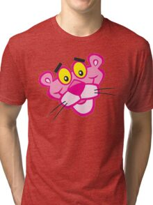 the pink panther Tri-blend T-Shirt
