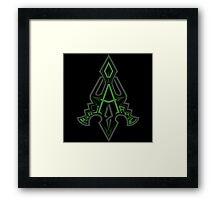 Al-Sahim | The Arrow Framed Print