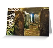Chambered Cairn Greeting Card