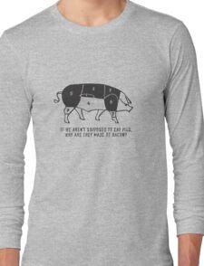 258 Eat Bacon Long Sleeve T-Shirt