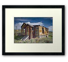 Blurry House Framed Print