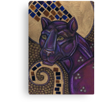 Icon II: The Panther Canvas Print