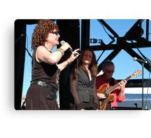 Elizabeth Geyer @ Jazz & Blues Festival 2009 Canvas Print
